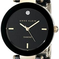 Anne Klein Women's AK 1018BKBK Black | 100% original, import SUA, 10 zile lucratoare af22508 - Ceas dama Anne Klein, Elegant, Analog