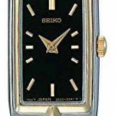 Seiko Women's SZZC42 Dress Two-Tone Watch | 100% original, import SUA, 10 zile lucratoare af22508 - Ceas dama Seiko, Elegant, Quartz, Analog