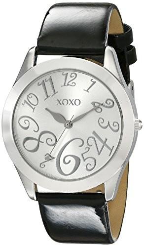 XOXO Women's XO3177 Silver Dial Black | 100% original, import SUA, 10 zile lucratoare af22508 foto mare
