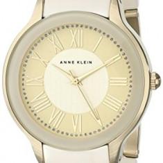 Anne Klein Women's AK 1948IVGB Gold-Tone | 100% original, import SUA, 10 zile lucratoare af22508 - Ceas dama Anne Klein, Elegant, Quartz, Analog