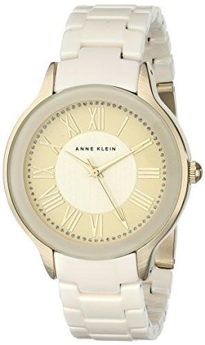 Anne Klein Women's AK 1948IVGB Gold-Tone   100% original, import SUA, 10 zile lucratoare af22508
