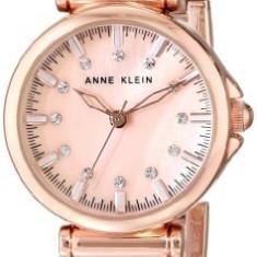 Anne Klein Women's AK 1622RMRG Swarovski | 100% original, import SUA, 10 zile lucratoare af22508 - Ceas dama Anne Klein, Elegant, Analog