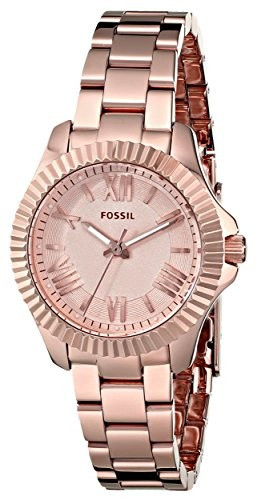 Fossil Women's AM4611 Cecile Small Rose | 100% original, import SUA, 10 zile lucratoare af22508 foto mare