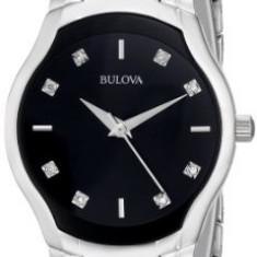 Bulova Women's 96P146 Diamond-Dial Watch in | 100% original, import SUA, 10 zile lucratoare af22508 - Ceas dama Bulova, Analog