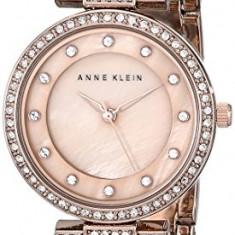 Anne Klein Women's AK 1852RMRG Swarovski   100% original, import SUA, 10 zile lucratoare af22508 - Ceas dama Anne Klein, Elegant, Quartz, Analog