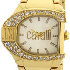 Just Cavalli Women's R7253160501 Logo Yellow | 100% original, import SUA, 10 zile lucratoare af22508 - Ceas dama Just Cavalli, Analog