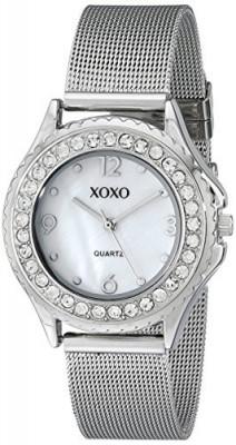 XOXO Women's XO5550 Silver-Tone Rhinestone-Accent Watch   100% original, import SUA, 10 zile lucratoare af22508 foto