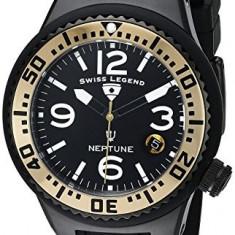 Swiss Legend Women's 11044P-BB-01-GA Neptune Black | 100% original, import SUA, 10 zile lucratoare af22508 - Ceas dama Swiss Legend, Casual, Quartz, Analog