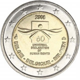 BELGIA 2 euro comemorativa 2008 - UNC, Europa, Cupru-Nichel