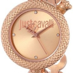 Just Cavalli Women's R7253137501 Lily Rose | 100% original, import SUA, 10 zile lucratoare af22508 - Ceas dama Just Cavalli, Elegant, Analog