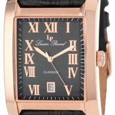 Lucien Piccard Men's 98042-RG-01 Classico Black | 100% original, import SUA, 10 zile lucratoare af22508 - Ceas barbatesc Lucien Piccard, Elegant, Quartz