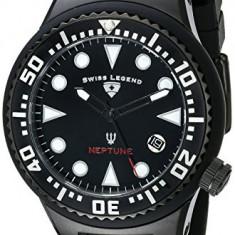 Swiss Legend Women's 11044D-BB-01 Neptune Black | 100% original, import SUA, 10 zile lucratoare af22508 - Ceas dama Swiss Legend, Analog