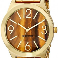 Nine West Women's NW 1584BNGB Brown | 100% original, import SUA, 10 zile lucratoare af22508 - Ceas dama Nine West, Analog