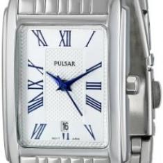 Pulsar Women's PH7329 Silver-Tone Watch | 100% original, import SUA, 10 zile lucratoare af22508 - Ceas dama Pulsar, Elegant, Quartz, Analog