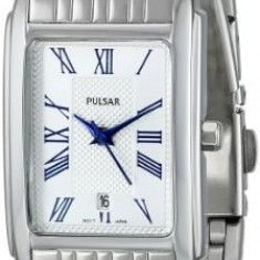Pulsar Women's PH7329 Silver-Tone Watch | 100% original, import SUA, 10 zile lucratoare af22508 - Ceas dama Pulsar, Analog