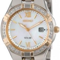 Seiko Women's SUT068 Dress-Solar Classic Watch | 100% original, import SUA, 10 zile lucratoare af22508 - Ceas dama Seiko, Analog