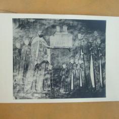 Manastirea Horezu Familia ctitorului Constantin Brancoveanu - Carte Postala Oltenia dupa 1918, Necirculata, Fotografie