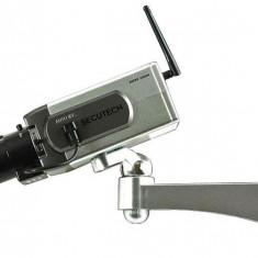 Camera falsa cu senzor miscare si motoras, noua intimideaza hotii, Bullet