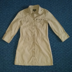 Rochita kaki tip militar, marca MEXX, fete 9 ani/ 134 cm, Culoare: Khaki