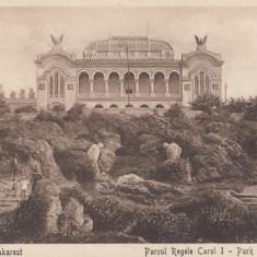 ROMANIA, BUCURESTI-PARCUL REGELE CAROL I, LOT 1 CP - Carte Postala Muntenia dupa 1918, Necirculata, Printata
