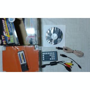 TV Tuner analogic pentru laptop,  PCI-Expres