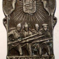 5.063 PLACHETA WWI AUSTRIA UNGARIA BULGARIA TURCIA IN MEMORIAM 1914 1918, Europa