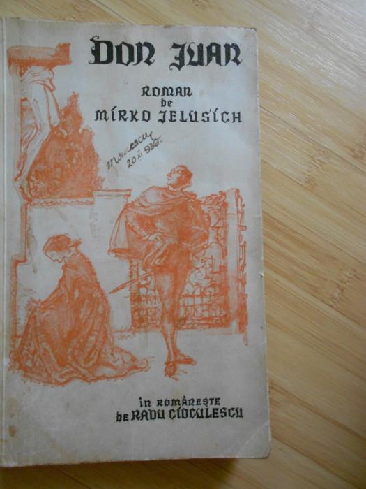 MIRKO JELUSICH--DON JUAN - CELE SAPTE PACATE DE MOARTE - INTERBELICA foto mare