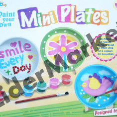 Set de pictura pe farfurii - Jocuri arta si creatie