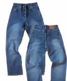Blugi barbati - talie inalta - LOTUS jeans W 31 (Art.170), Albastru