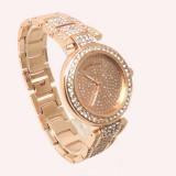 Ceas dama MICHAEL KORS diamond fashion Roze (Poze reale, Garantie), Otel, Analog