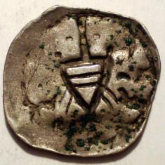 E.325 AUSTRIA VIENA FRIEDRICH III 1314-1330 PFENNIG ARGINT 0, 62g/13-14mm - Moneda Medievala, Europa, An: 1300