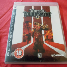 Joc Unreal Tournament III, PS3, original, alte sute de jocuri! - Jocuri PS3 Altele, Shooting, 16+, Single player