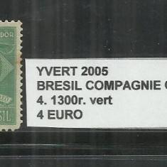 BRAZILIA COMPAGNIE CONDOR 1927 - 4. 1300 R., Nestampilat