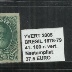 BRAZILIA - 1878 - 79 - 42. 160 R, Nestampilat