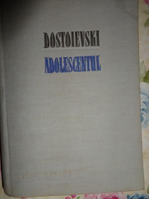 Dostoievski - Adolescentul (editie cartonata) foto