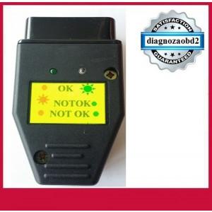Tester diagnoza auto OBD2 pt. control tensiune 12v
