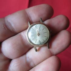 Ceas Slava de dama, ceas vechi 17 rubine - defect - Ceas de mana