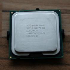 Procesor Intel Core 2 Duo E8400 CPU 2x3, 00 Ghz ca NOU, peste E6850, sub E8500 - Procesor PC Intel, Numar nuclee: 2, Peste 3.0 GHz, LGA775
