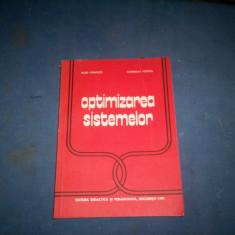 OPTIMIZAREA SISTEMELOR - Carte sisteme operare
