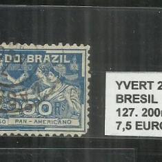 BRAZILIA - 1906 - 127, 200 R, Stampilat