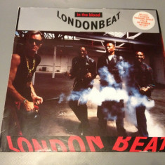 LONDONBEAT - IN THE BLOOD ( 1990/ BMG REC /RFG ) - DISC VINIL/VINYL/DANCE/POP - Muzica Rock rca records