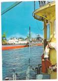 % carte postala (cod 320/69)-CALARASI-Oltenita-Santierul naval, Circulata, Fotografie