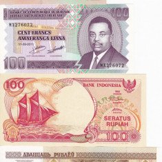 LOT 4 bancnote diferite UNC!!!