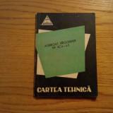AGREGAT FRIGORIFER tip 2 CV-4, 5 * Cartea Tehnica - 1964, 76 p.
