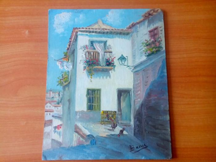 Tablou pictat placaj