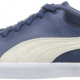 Adidasi originali femei PUMA-in cutie - piele naturala-tenisi originali-36 - Adidasi dama Puma, Culoare: Albastru