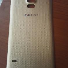 Capac Samsung Galaxy S5 G900 G900F carcasa baterie spate / Culoare aurie / gold