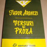 VERSURI SI PROZA - Tudor Arghezi