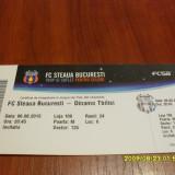 Invitatie  Loja     Steaua  -  Dinamo  Tbilisi