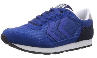 40,41,42,44_Adidasi sport originali HUMMEL_din piele naturala_albastru_in cutie foto